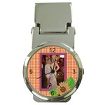 Elegant Money  Clip Watch - Money Clip Watch