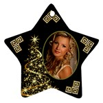 Sparkle of Christmas Star Ornament - Ornament (Star)