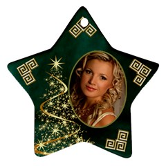 My Sparkle Of Christmas Star Ornament (2 Sided) By Deborah   Star Ornament (two Sides)   24h3nl9qsndn   Www Artscow Com Front