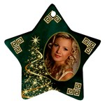 My Sparkle of Christmas Star Ornament (2 sided) - Star Ornament (Two Sides)