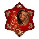 Sparkle Snowflake Ornament - Ornament (Snowflake)