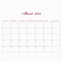 2016 French Garden Vol1   Wall Calendar 11x8 5 (12months) By Picklestar Scraps   Wall Calendar 11  X 8 5  (12 Months)   3tanm2mz8glh   Www Artscow Com Mar 2016