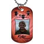 RedNinjaTag3 - Dog Tag (Two Sides)