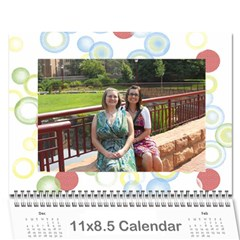 Calendar For Mom & Papa 2013 By Carrie Wardell   Wall Calendar 11  X 8 5  (12 Months)   92nk03zxm66z   Www Artscow Com Cover