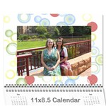 Calendar for Mom & Papa 2013 - Wall Calendar 11  x 8.5  (12-Months)