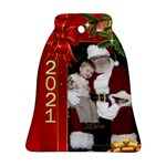 Christmas Memories Bell Ornament (2 sided) - Bell Ornament (Two Sides)