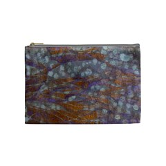 Storm Shibori Makup Bag By Susanne Alexander   Cosmetic Bag (medium)   Rqajty93kwvk   Www Artscow Com Front