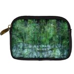 Green Mystery - Digital Camera Leather Case