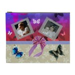 Butterfly layered cosmetic Bag (XL)