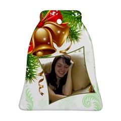 Bell Bell Ornament (2 Sided) By Deborah   Bell Ornament (two Sides)   Jjpqaldshvmp   Www Artscow Com Back