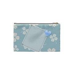 Cosmetic Bag (s   Blue) By Tanya   Cosmetic Bag (small)   Mnr269i78sw5   Www Artscow Com Back
