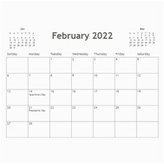 2015 Calendar By Martha Meier   Wall Calendar 11  X 8 5  (12 Months)   9n6t6nkxu42r   Www Artscow Com Feb 2015
