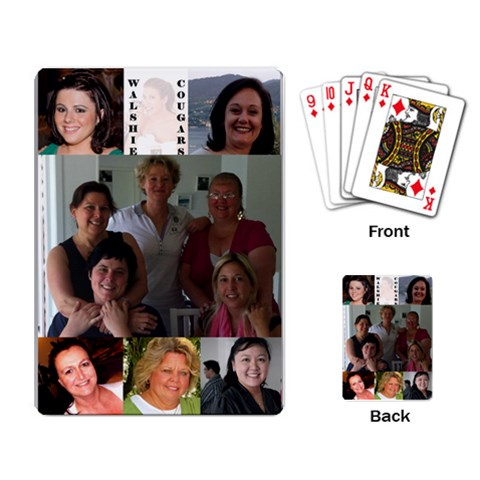 Walshie Playing Cards By Karen   Playing Cards Single Design   4yxkhkmdt9a2   Www Artscow Com Back
