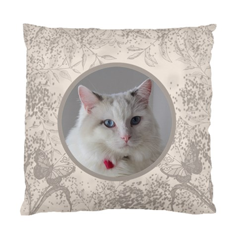 Coffee And Cream Cushion Case By Deborah   Standard Cushion Case (one Side)   Mukxojmxg45j   Www Artscow Com Front
