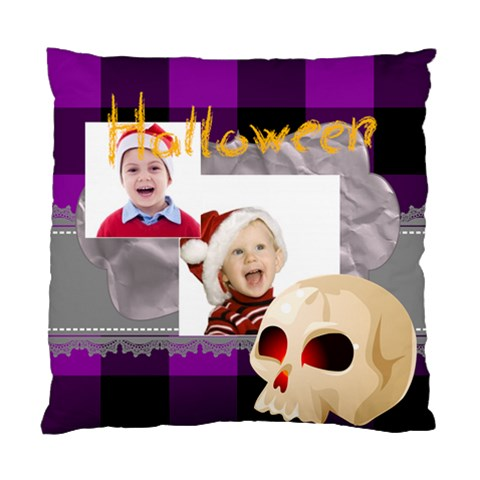 Halloween By May   Standard Cushion Case (one Side)   Nooqz58xhcgk   Www Artscow Com Front