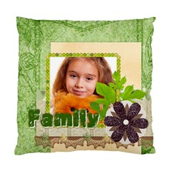 Family By Joely   Standard Cushion Case (two Sides)   Kuqrns40pbmr   Www Artscow Com Back