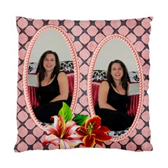 Shades Of Red Cushion Case (2 Sided) By Deborah   Standard Cushion Case (two Sides)   05kxuncezxp0   Www Artscow Com Back