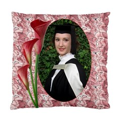 Shades Of Red Cushion Case (2 Sided) By Deborah   Standard Cushion Case (two Sides)   2snqyrun04pc   Www Artscow Com Back