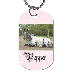 Pepper Tags By Madison   Dog Tag (two Sides)   Ni73rit5380n   Www Artscow Com Front