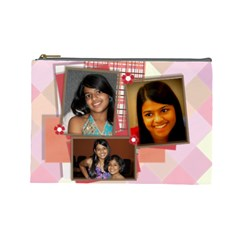 Nitanti By Kavita   Cosmetic Bag (large)   Gcehpv3pt3j5   Www Artscow Com Front