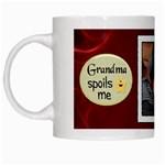 Grandma Spoils Me Mug - White Mug