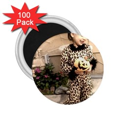 Trick Or Treat Baby 100 Pack Regular Magnet (round) by tammystotesandtreasures