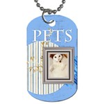 pet - Dog Tag (One Side)