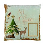 All is Calm Single Sided Pillow Case - Standard Cushion Case (One Side)