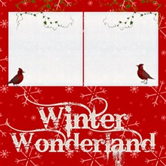 Winter Wonderland 8 X 8 Scrapbook Pages By Catvinnat   Scrapbook Page 8  X 8    Fp6vica3jvb7   Www Artscow Com 8 x8 Scrapbook Page - 4
