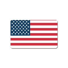 Flag Name Card Sticker Magnet by tammystotesandtreasures