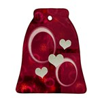 Love Pink Bell Ornament - Ornament (Bell)
