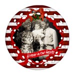 Dave.Anne.Joanne - Ornament (Round Filigree)