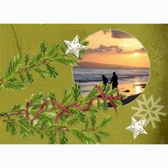 Shabby Christmas Vol1   5x7 Photo Cards  By Picklestar Scraps   5  X 7  Photo Cards   Lwq0sjeoi0rm   Www Artscow Com 7 x5 Photo Card - 1