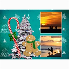 Simply Christmas Vol1   5x7 Photo Cards  By Picklestar Scraps   5  X 7  Photo Cards   A9elkoz5rckg   Www Artscow Com 7 x5 Photo Card - 5