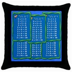 Cojín - Tablas - Throw Pillow Case (Black)