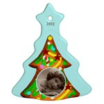 Gingerbread Cookie 2012 Tree Ornament - Ornament (Christmas Tree)