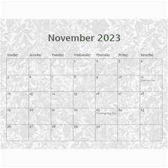 Weathered Floral 2015 Calendar By Catvinnat   Wall Calendar 11  X 8 5  (12 Months)   10ewmlhdhlzy   Www Artscow Com Nov 2015