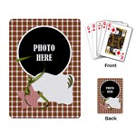Christmas Cluster Playing Card 1 - Playing Cards Single Design