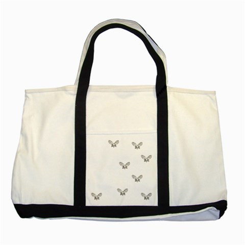 Two Tone Tote Bag Be Classic By Deca   Two Tone Tote Bag   Fvrq8080hiue   Www Artscow Com Front