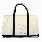 Two Tone Tote Bag Be Classic