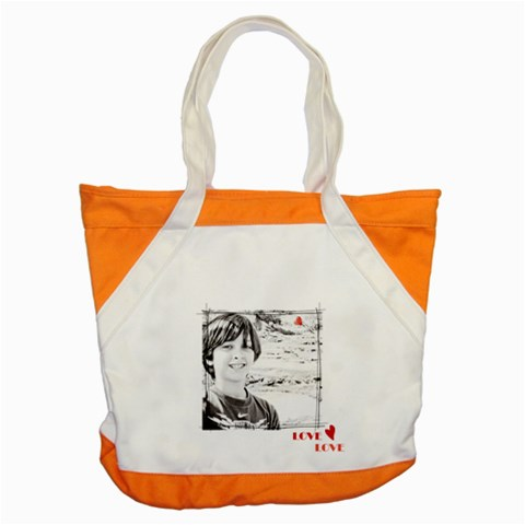 Accent Tote Bag L amour By Deca   Accent Tote Bag   E00fa05q8uq3   Www Artscow Com Front