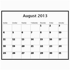 Pops Calendar By Deborah   Wall Calendar 11  X 8 5  (12 Months)   0hxzmfpncggs   Www Artscow Com Aug 2013