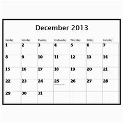 Pops Calendar By Deborah   Wall Calendar 11  X 8 5  (12 Months)   0hxzmfpncggs   Www Artscow Com Dec 2013