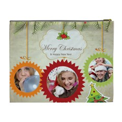 Xmas By Jo Jo   Cosmetic Bag (xl)   Uzd6s9rvp3o6   Www Artscow Com Back