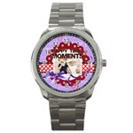 happy memonts - Sport Metal Watch