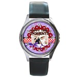 happy memonts - Round Metal Watch