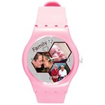 Family Round Plastic Sport Watch Medium
