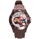 Family Round Plastic Sport Watch Large