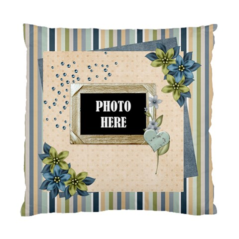 My Blue Inspiration Cushion 1 By Lisa Minor   Standard Cushion Case (one Side)   Dvk7bciogt0g   Www Artscow Com Front