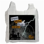 Halloween Candy Recycle Bag - Recycle Bag (One Side)